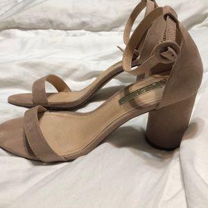 Lulu nude round heel, size 8.5 only warn once!